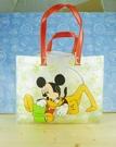 【震撼精品百貨】Micky Mouse_米奇/米妮 ~透明袋-紅布魯托