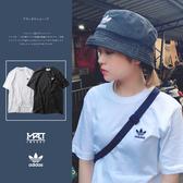 IMPACT Adidas Originals Tee 黑 白 素T 素面 小LOGO 男女 DV1576 DV1577