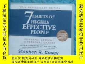 二手書博民逛書店the罕見7 habits of highly effective people 光盤5張Y6699