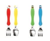 小饅頭**EDISON 嬰幼兒學習餐具組(叉子+湯匙+收納盒)-2款*特價373元