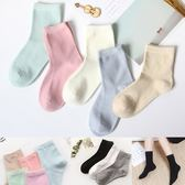 馬卡龍色 糖果純色中筒襪 船型襪 條紋襪 女 中筒襪 素色襪【RS739】