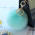 吊飾 可愛韓國創意包包掛件掛飾流行毛絨皮...