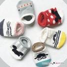卡通動物老鼠翹鬍子造型襪 寶寶襪 船襪 短襪