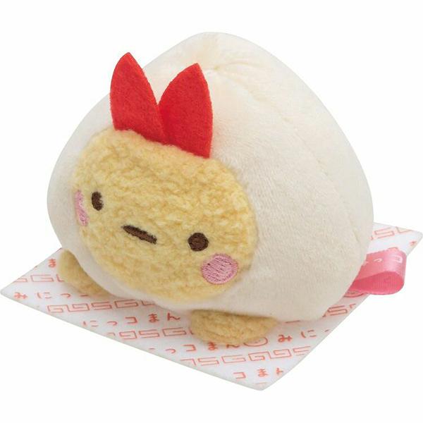 【角落生物 麻糬娃娃】角落生物 中華料理系列 麻糬娃娃 炸蝦 日本正版 該該貝比日本精品 ☆