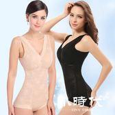 塑身馬甲 腰夾/束腰 透氣舒適抹胸產后收腹腰三角連體衣束身衣