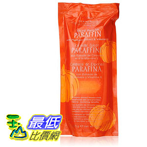 [106美國直購] Gigi GG-876 南瓜 Spiced Pumpkin Hair Removal Wax 蜜蠟護手 巴拿芬蠟