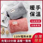 快速出貨 110V電熱水袋出口臺灣日本美國加拿大暖手寶暖水袋雙插手電暖igo