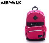 【橘子包包館】AIRWALK 小豬高彩度撞色運動筆電後背包 A615320142 桃黑
