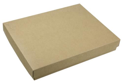 Z01003 (20入蛋規格) 素色牛皮盒-可加購內襯 (20入裝)