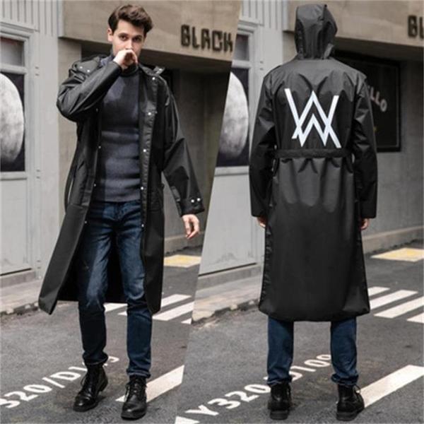 連身雨衣韓國時尚長款風衣雨衣外套成人男女學生徒步戶外防水騎行雨披 非凡小鋪