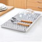[現貨] 北歐極簡雙層瀝水盤【MBL1104】托盤 餐具碗盤水杯瀝水架 水果瀝水盤