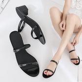 高跟休閑塑膠室外涼拖女鞋 SG3157【衣好月圓】