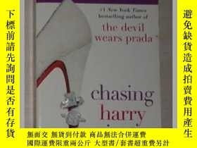 二手書博民逛書店英文原版罕見Chasing Harry Winston by L