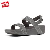 FitFlop】GLITZY BACK-STRAP SANDALS 經典水鑽後帶涼鞋-女(錫色)