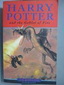 【書寶二手書T1/原文小說_NOD】Harry Potter and the Goblet of Fire_J. K. Rowling