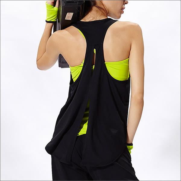 舒適裸背罩衫TA617(商品圖不含內搭)- 百貨專櫃品牌 TOUCH AERO 瑜珈服有氧服韻律服