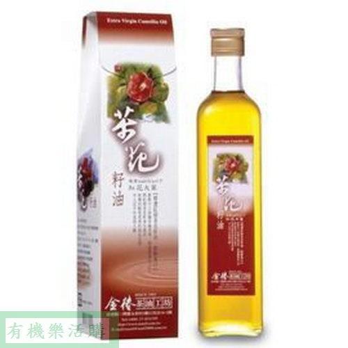 金椿茶油工坊---紅花大菓茶花籽油 500ml/罐