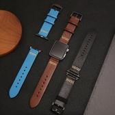 錶帶索柯 適用于Apple Watch 2/3蘋果手錶錶帶真皮商務 iWatch 42mm 交換禮物