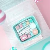 寶寶奶瓶收納箱盒儲存干燥瀝水架帶蓋防塵嬰兒餐具奶粉盒便攜外出