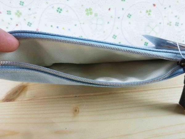 【震撼精品百貨】風立ちぬ_風起~扁形筆袋-飛機-藍色