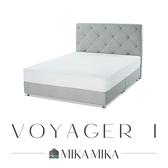 【MIKAMIKA】油蠟皮雙人5尺床組/2色/航海家1號/H&D東稻家居