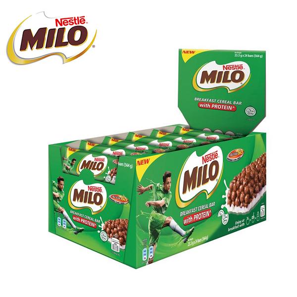 【MILO美祿】穀物棒23.5g*24入(盒) / 送限量獅子王便條紙