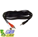 [105美國直購] 電纜線 Belkin F8V235-12 2 RCA to 3.5mm Y cable 12-Feet F8V235-12