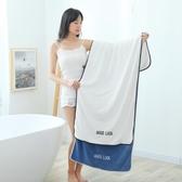 浴巾成人男女非純棉全棉吸水速干不掉毛加厚超大毛巾嬰兒裹巾可穿