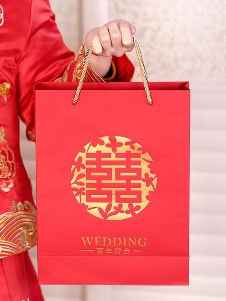 喜糖袋子中國風結婚糖盒包裝禮品盒