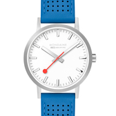 MONDAINE 瑞士國鐵Classic經典系列腕錶-40mm/天空藍 66016BD