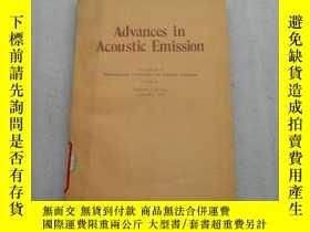 二手書博民逛書店Acoustic罕見in Acoustic Emission 聲
