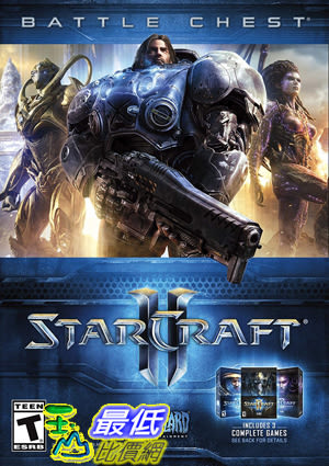 [7美國直購] 2018 amazon 亞馬遜暢銷軟體 Starcraft II Battle Chest - PC Standard Edition