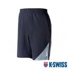 K-SWISS Woven Shorts 1運動短褲-男-黑