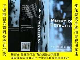 二手書博民逛書店Mutation罕見Detection 突變檢測Y7957 Ri