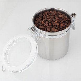 不鏽鋼咖啡豆密封罐