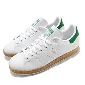 adidas 休閒鞋 Stan Smith 白 綠 I AM Groot 小白鞋 回收環保 男鞋 女鞋 聯名款 【ACS】 GZ3099