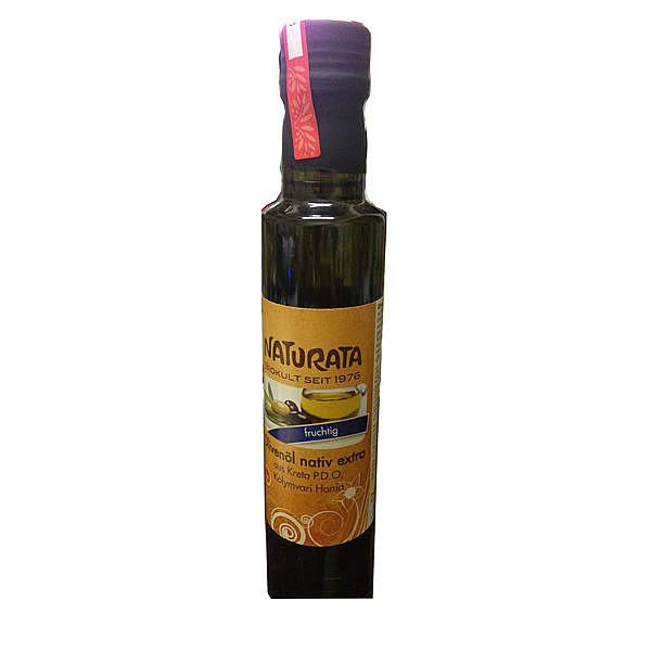 德國納圖拉 Naturate P.D.O 有機冷壓初榨橄欖油 250ML