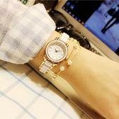 手錶女學生韓版簡約時尚潮流ulzzang小巧大氣休閒時裝手鍊式女錶     電購3C