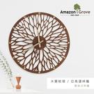 【預購】壁掛式/壁鐘/掛鐘 木質紋理[亞馬遜林蔭]壁掛式時鐘 兩款可選 dayneeds