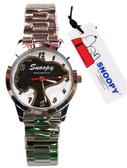 【卡漫城】 Snoopy 手錶 影子 ㊣版 史努比 卡通錶 史奴比 不鏽鋼 女錶 男錶