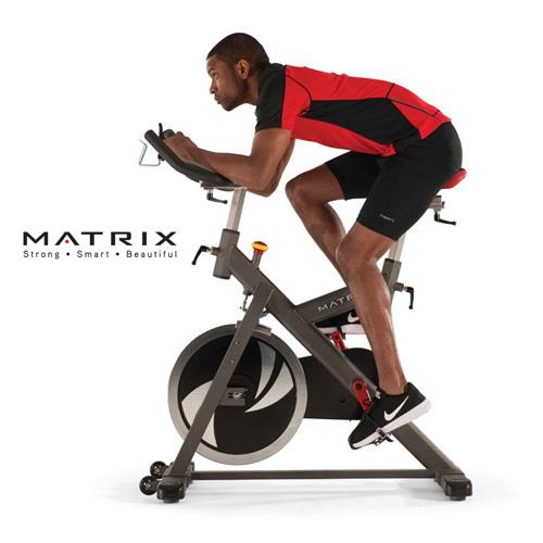 喬山JOHNSON Matrix Retail ES 專業飛輪健身車《健身房商用等級》