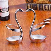 天鵝座創意筷子筒不銹鋼西餐刀叉勺餐具套裝可愛收納盒籠架小工具 LannaS