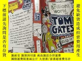 二手書博民逛書店The罕見Brilliant World of Tom Gates《湯姆·蓋茨的輝煌世界》Y200392