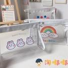 日系透明防水鉛筆袋可愛學生大容量化妝品收納包【淘嘟嘟】