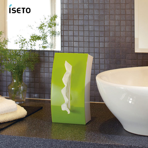 【nicegoods】日本ISETO Bow弧形雙面面紙盒