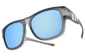 ZIV 運動太陽眼鏡 S103 040 (霧透灰-藍水銀棕) 台灣製 外掛式太陽眼鏡 偏光運動眼鏡 # 金橘眼鏡