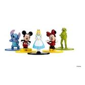 【美國 Disney 迪士尼】1.65吋合金公仔-5入-迪士尼款 JA98668