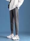 2021新款春秋夏運動褲女褲子寬鬆束腳哈倫蘿卜顯瘦ins潮休閒衛褲 果果輕時尚