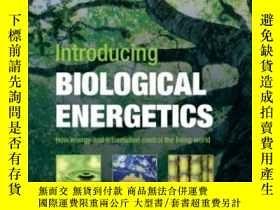 二手書博民逛書店Introducing罕見Biological Energeti