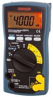 TECPEL 泰菱 日本 Sanwa CD771 數位電錶 CD-771